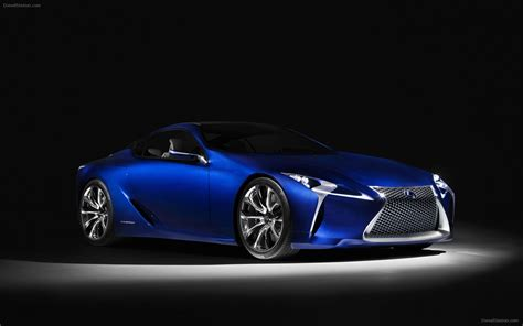 lexus blue lexus lf lc blue concept 2012 widescreen exotic car photo