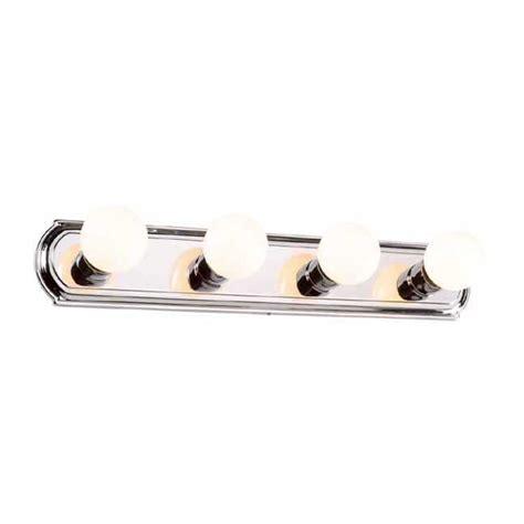 spot led pour cuisine canarm applique de salle de bain à 4 lumières chrome
