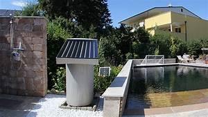 Solar warmwasser im garten fur gartendusche almhutte mit for Französischer balkon mit garten warmwasser