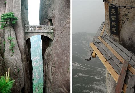 incredible  famous bridges   world