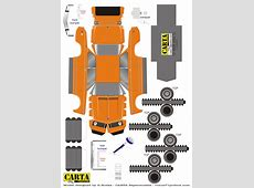 Paper Car Template Choice Image Template Design Ideas
