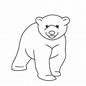 coloring page polar bear - printable polar bear coloring pages coloringstar