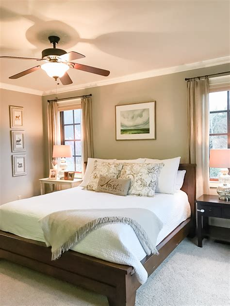 master bedroom accessories master bedroom makeover the southern style guide 12226 | One Room Challenge Master Bedroom 4