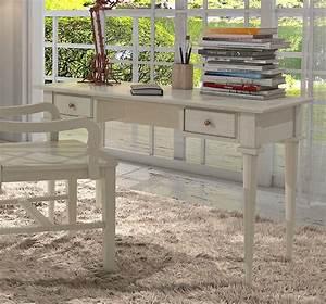 Weißer Schreibtisch Mit Schubladen : schreibtisch arbeitstisch mit 2 schubladen pinie massiv breite 120 cm casamia wohnen ~ Yasmunasinghe.com Haus und Dekorationen