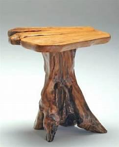 Baumstamm Tisch Super Originelle Designs