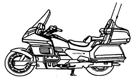 Motorcycle Vector Art