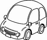Clipart Coloring Basic Pages Drawing Cars Getdrawings Clipartmag Clipground sketch template