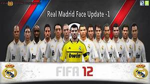 "FIFA 12 ""Editing Generation Face Update Real Madrid V1"
