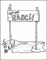 Ranch Coloring Western Vbs Cowboy Makingfriends Wild West Friendly Wester Sheets Printable Crafts Printer Reserved Rights Inc Version Wanted Outline sketch template