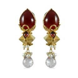 jhumki style earrings in gold gold jhumka earrings designs 2013 16