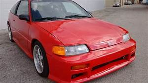 1989 Honda Crx Si B16a Vtec Swap 5 Speed Manual
