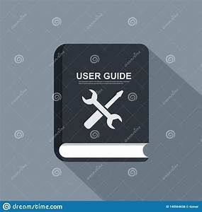 Icon User Guide Vector Flat Icon  Concept Of User Manual