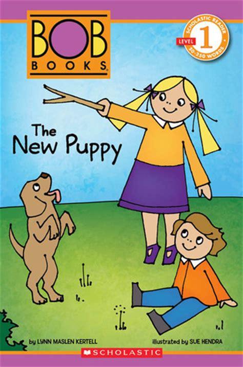scholastic reader level  bob books   puppy
