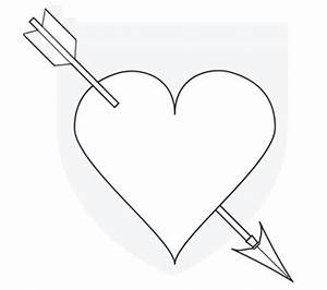 Heart Drawings With Arrows | www.imgkid.com - The Image ...