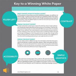 A white paper template helps you build content that for Marketing white paper template