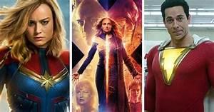 Upcoming, Superhero, Movies, 2019, Trailers, U0026, Release, Dates