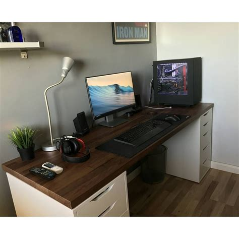 small gaming computer desk 23 diy computer desk ideas that make more spirit work
