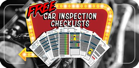vehicle inspection forms modern