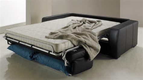 canapé lit pour couchage quotidien canapé lit en cuir 2 places couchage 120 cm tarif usine