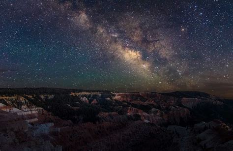 Best Places For Stargazing Cedar Breaks Star Parties