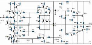 Draw Your Wiring   Make A Amplifire 5000watt Crcuit Diagram