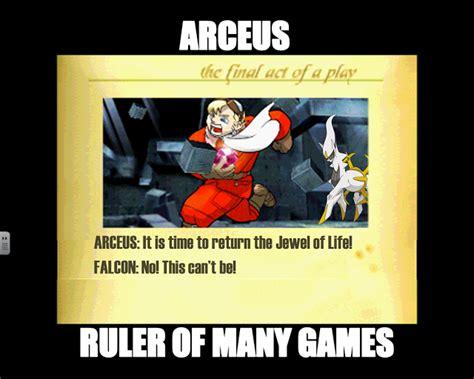 Arceus Meme - arceus falcon meme by overlooke on deviantart