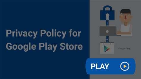 You can use our privacy policy generator to create a privacy policy. If you received a warning email from the Google Play Store ...