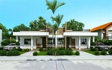 conchita  bedroom duplex house plan pinoy house plans