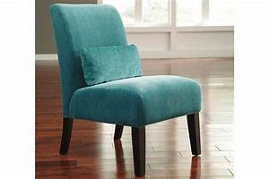 Annora Teal Accent Chair By Ashley At Gardner White