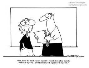 School Homework Cartoon