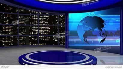 Screen Tv Studio Background Virtual Loop Channel