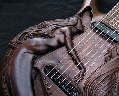 Guitar Mermaid Carved Hand Syrena Summary Offers