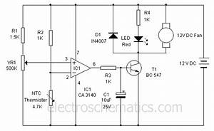 Thermistor Projects And Circuits