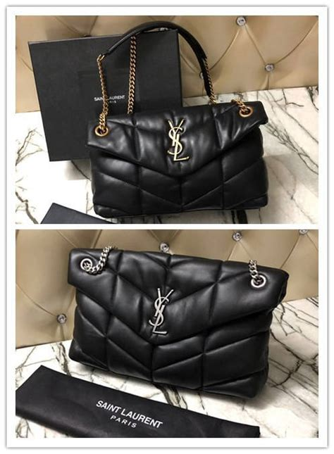 ysl loulou puffer small bag  quilted lambskin modishbagsru