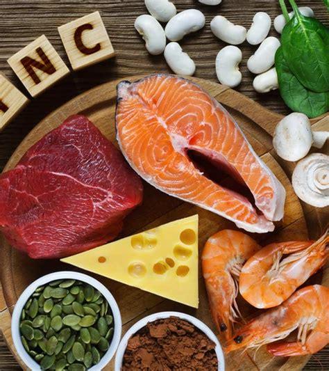 top  foods high  zinc   include   diet