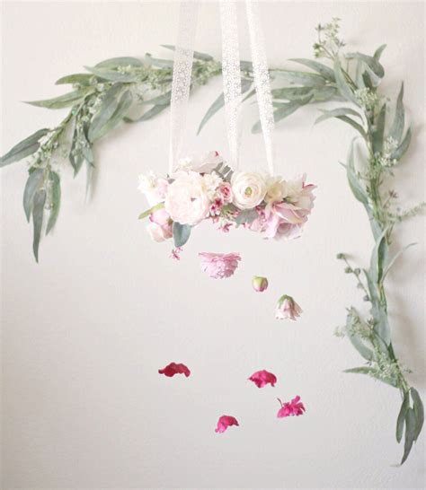 picture of diy floral mobile hanging plants on trend home decorating ideas afloral com wedding blog