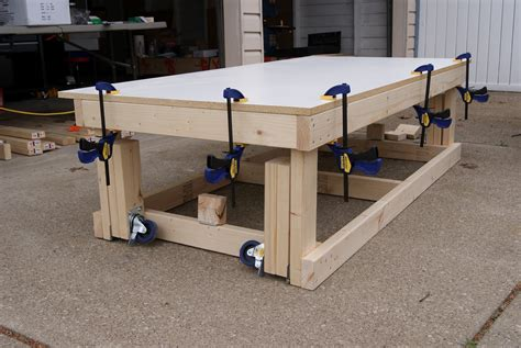 woodwork workbench plans  wheels  plans