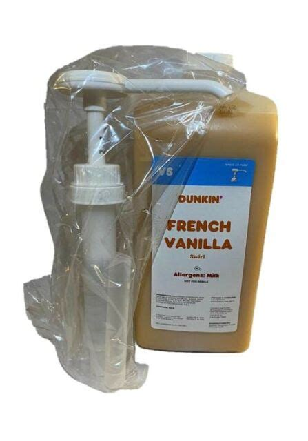 Related iced coffee from dunkin' donuts: Dunkin Donuts French Vanilla Swirl With Pump | eBay