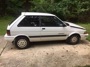 Subaru Justy 4wd 5 Speed For Sale