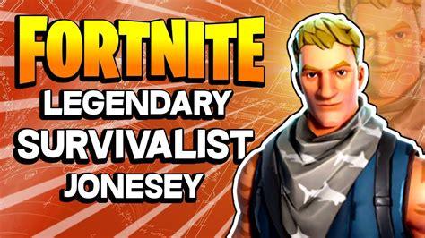 survivalist jonesy fortnite save  world pve