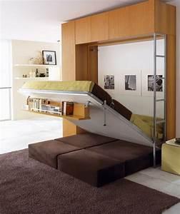 Lit Escamotable 2 Places : lit placard 2 personnes armoire lit verticale vasp ~ Melissatoandfro.com Idées de Décoration