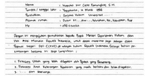 Penulisan Sul Lamaran Kerja by Surat Lamaran Pekerjaan Lengkap Jenis Jenis Cara