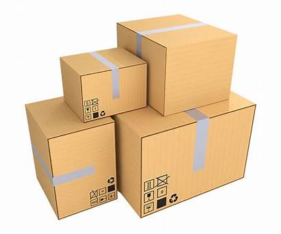 Boxes Cardboard Packaging Transparent Clipart Packing Paper