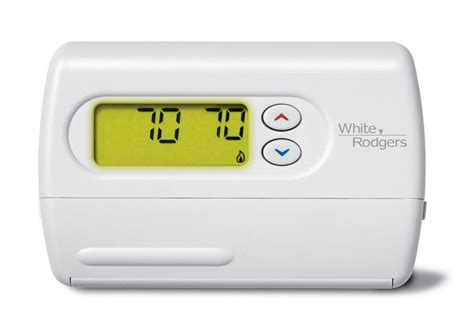 white rodgers 1f86 344 white 80 series standard single stage 1h 1c non programmable digital