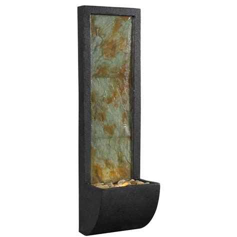 kenroy home walla indoor 37 in wall fountain 50200sl
