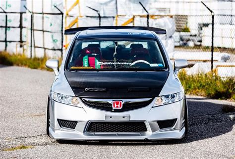 Usdm Fa5 With Type R Replica Bumper, Carbon Fiber Hood