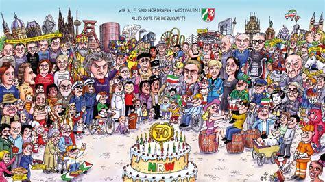 neuer nrw kalender von jacques tilly das landesportal