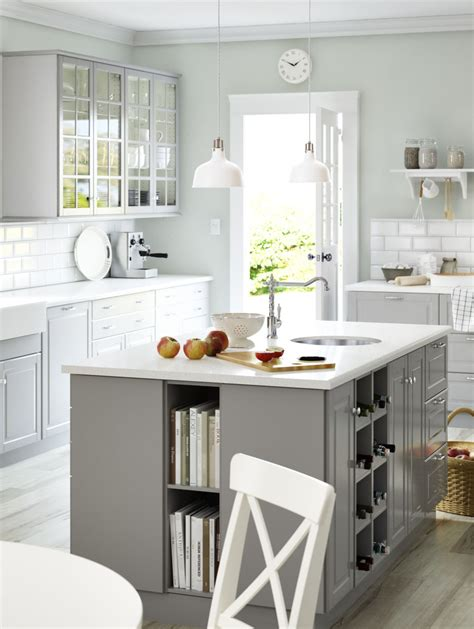 white kitchen island ikea sektion kitchens give you the freedom to create your 4063