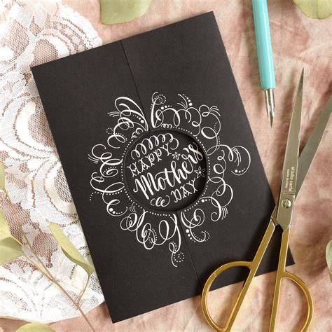 simple mothers day card tutorial  postmans knock