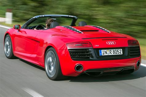 Audi Convertible by Used 2015 Audi R8 Convertible Pricing For Sale Edmunds
